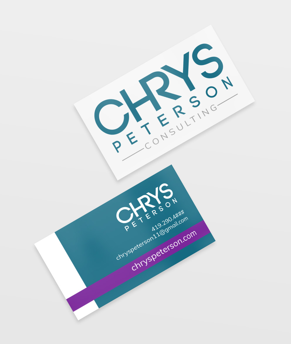 Chrys Peterson Business Cards