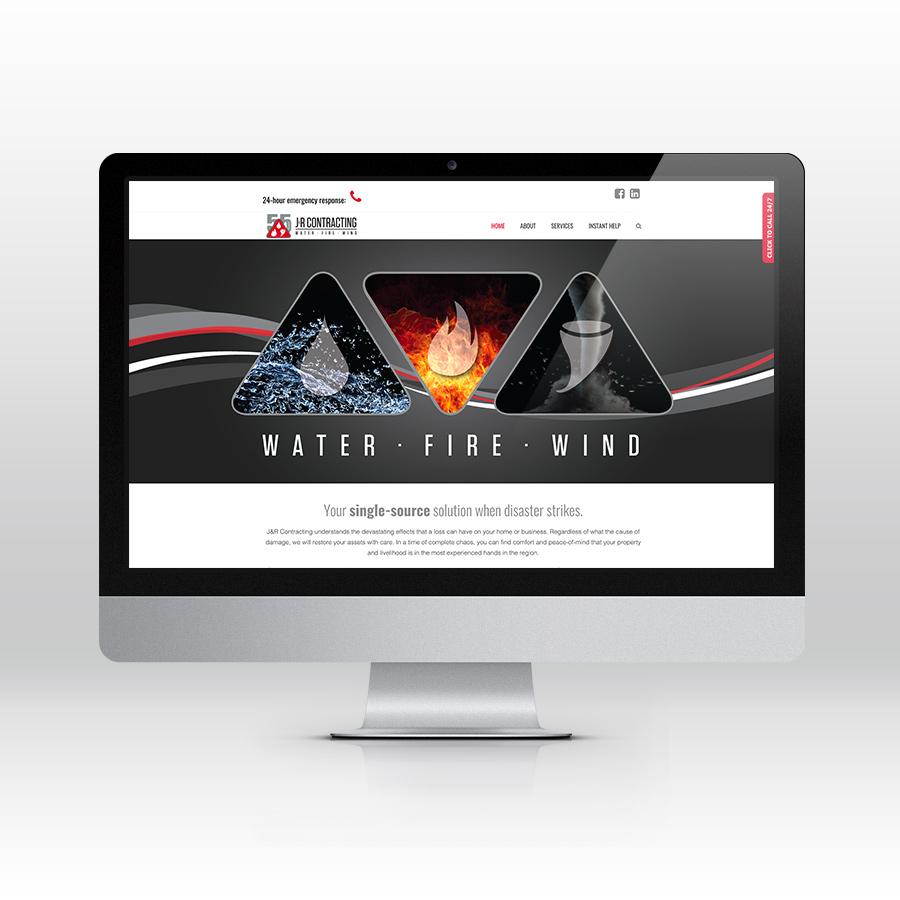 J&R Contracting - Website