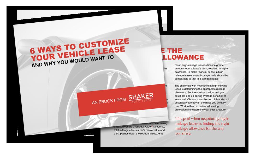 Shaker Auto Lease White Paper