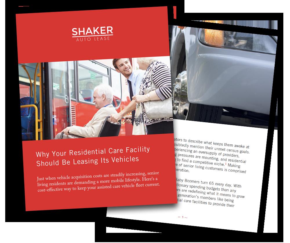 Shaker Auto Lease - White Paper