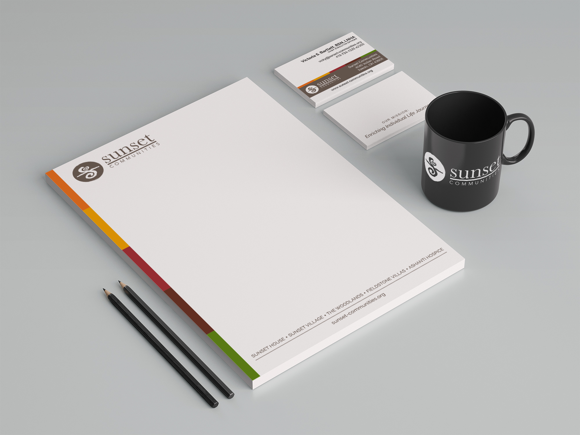 Sunset Letterhead