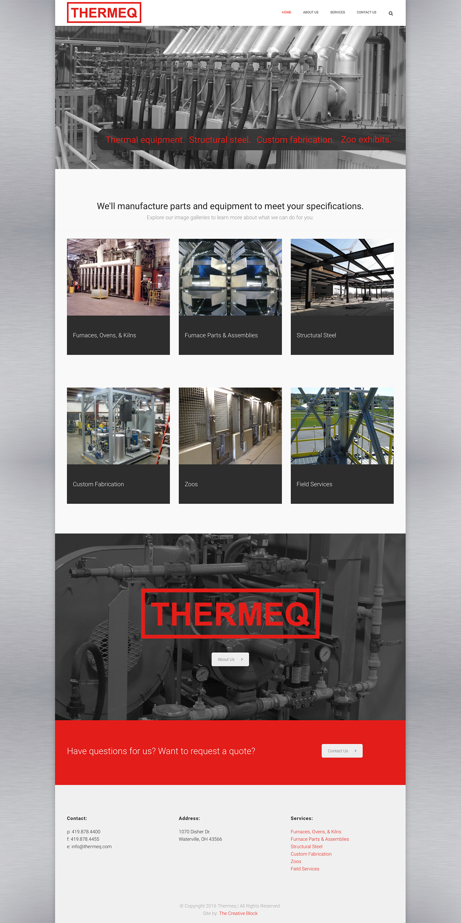 Thermeq Website