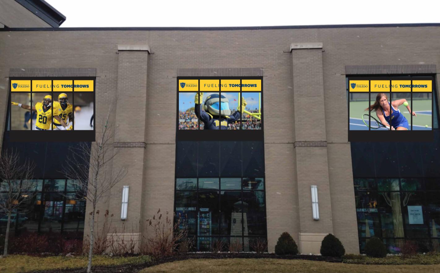 University of Toledo - Window Decals