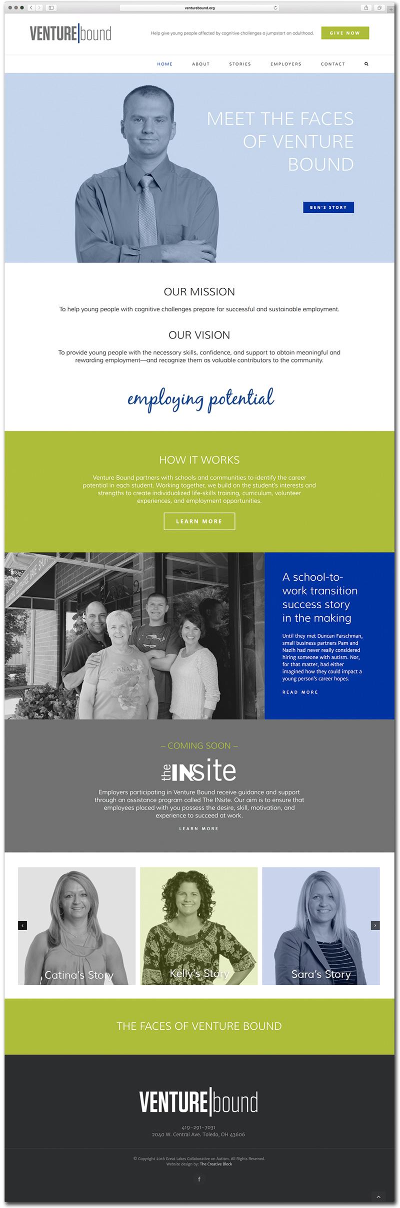 Venture Bound Homepage