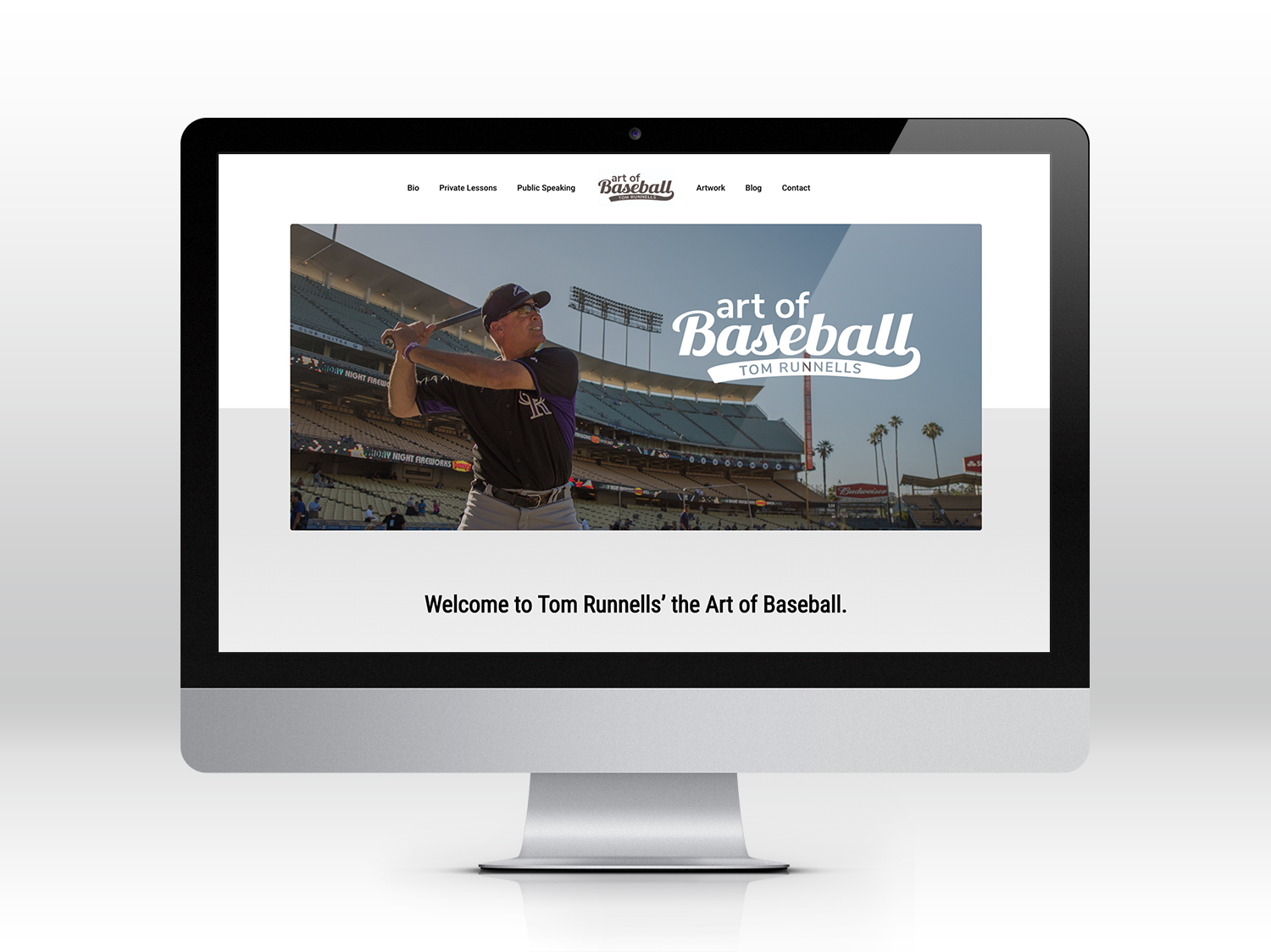 Art of Baseball Website