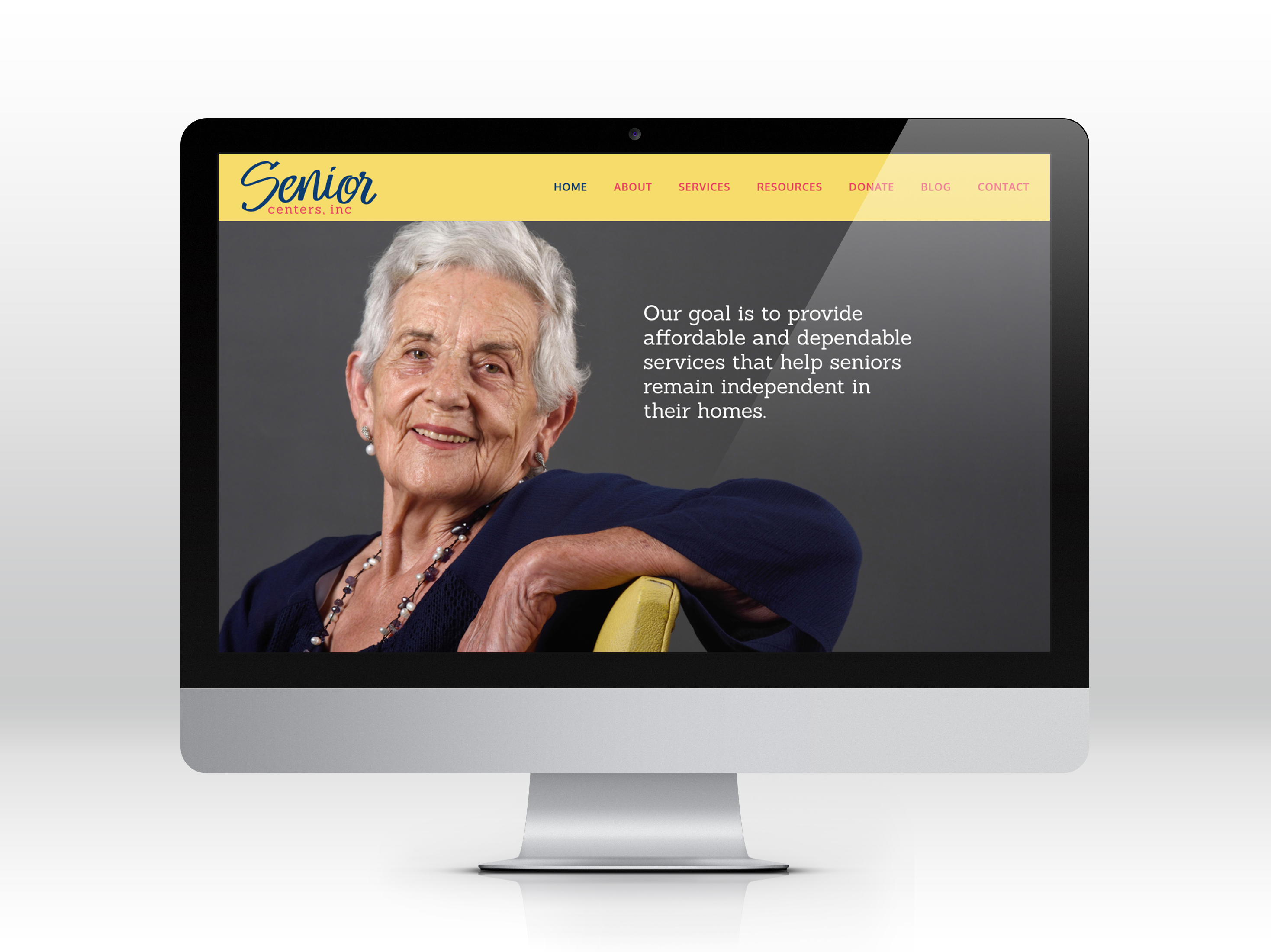 Senior Centers Inc. Website