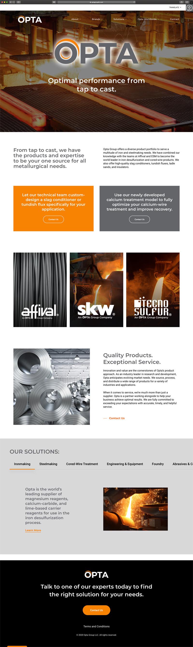 OPTA Group LLC - Homepage