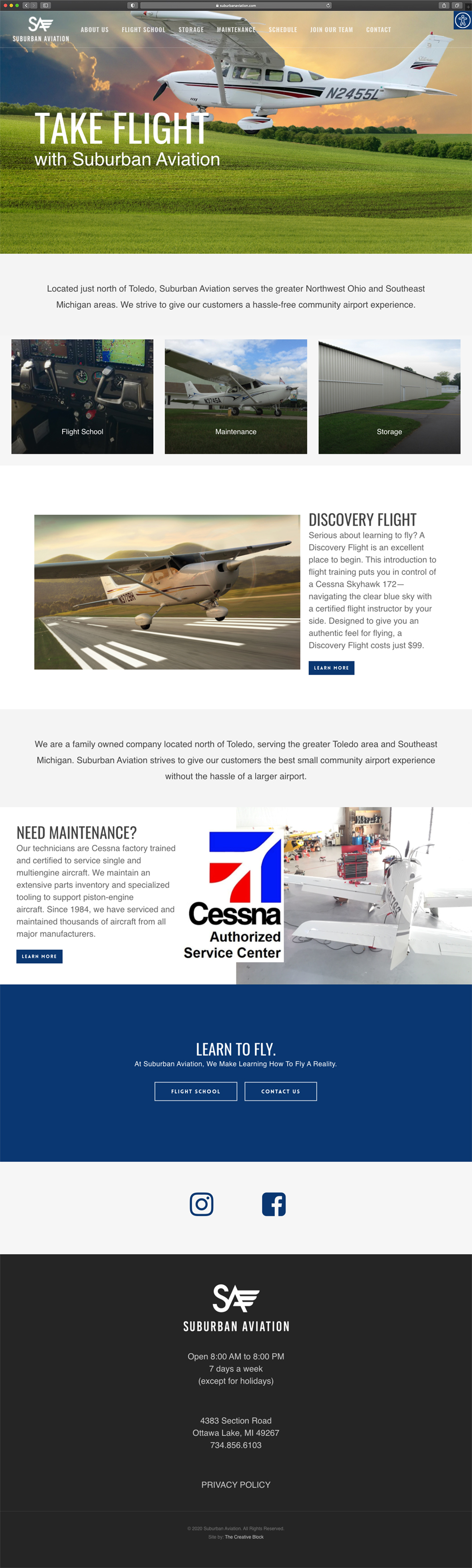 Suburban Aviation - Homepage