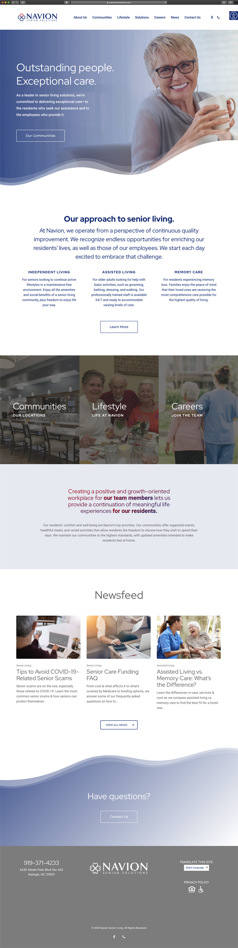 Navion Homepage