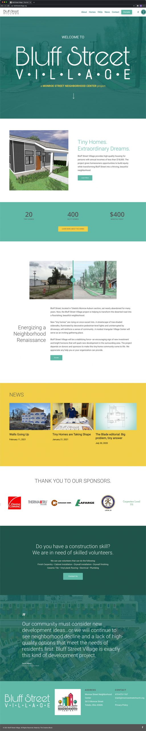 Bluff Street Village - Homepage